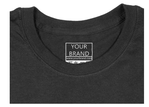 Build your brand through white label custom branding services such as neck labels and much more