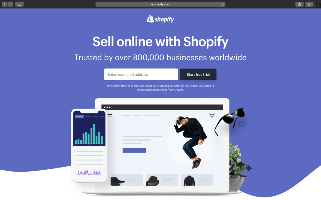 Get a free Shopify Store from Printrove today