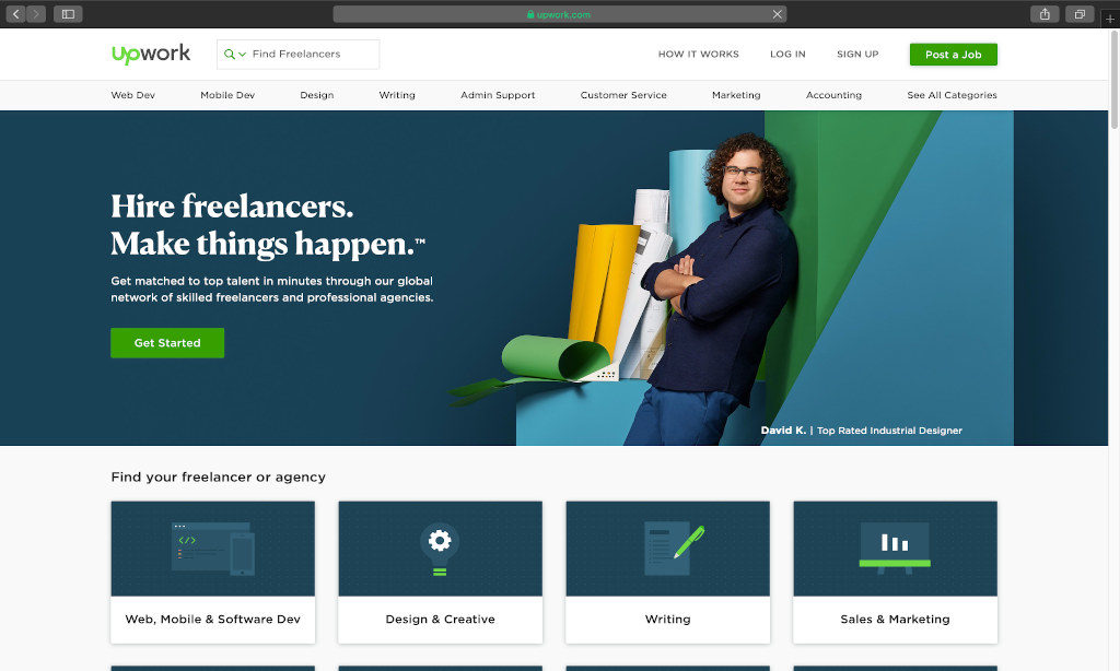 Hire a Designer From Upwork for E-commerce Store